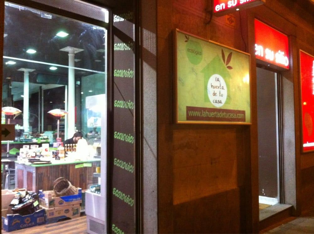La huerta de tu casa health food calle de la colegiata for Casa granada tirso de molina