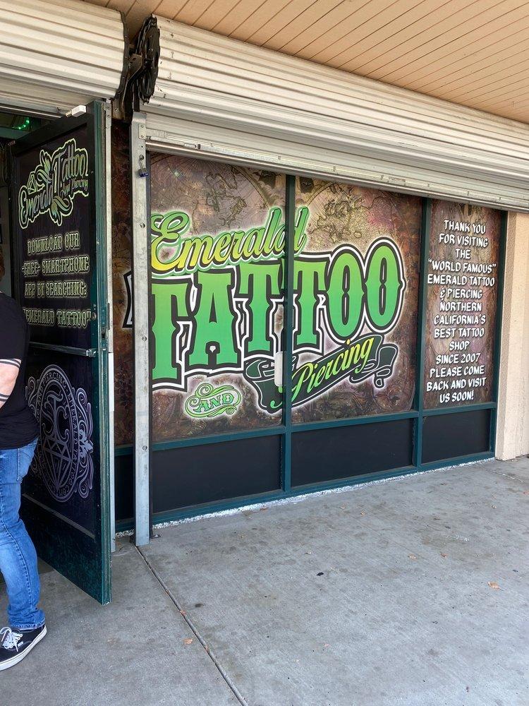 Emerald Tattoo & Piercing - Lodi: 2525 S Hutchins, Lodi, CA