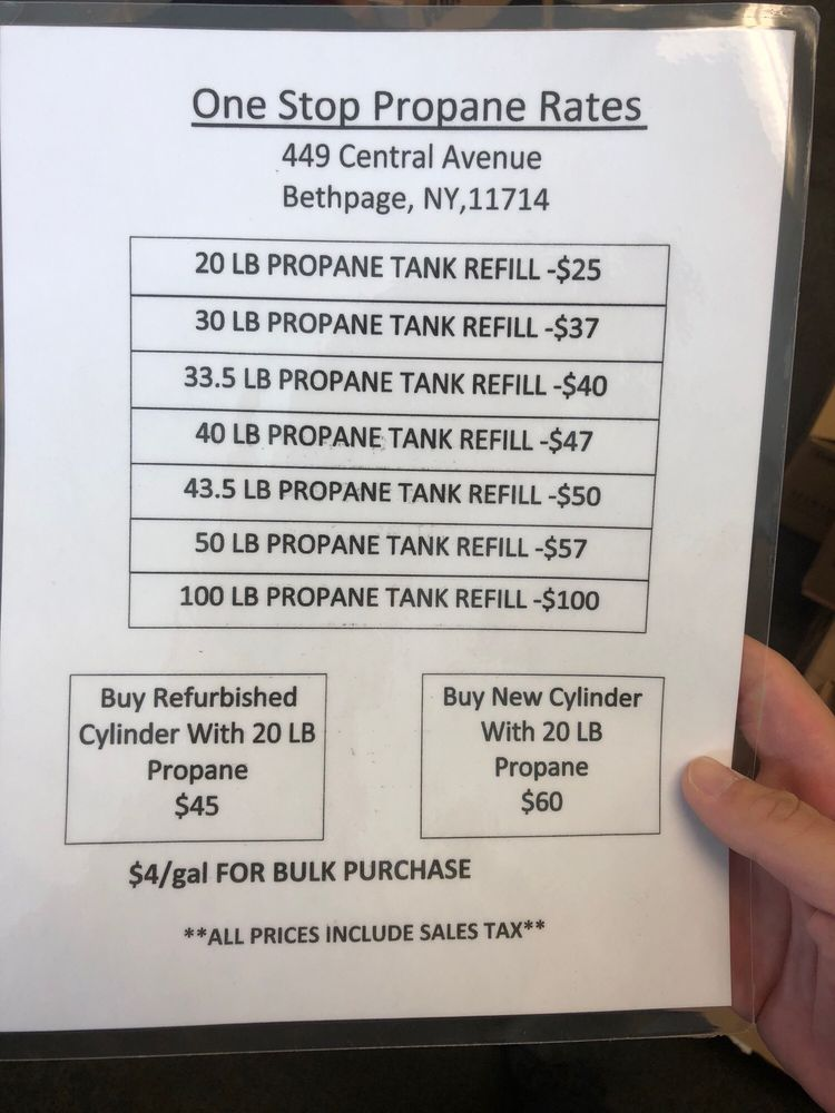 One Stop Propane: 453 Central Ave, Bethpage, NY
