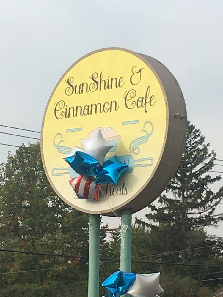 Sunshine and Cinnamon Cafe: 120 W Cleveland St, Alexandria, IN