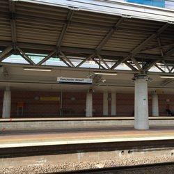 Manchester Airport Railway Station - Train Stations - Malaga