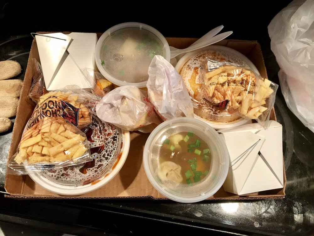 Food from Jeffrey's Chinese Kitchen