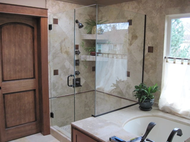 Custom Heavy Glass Shower Door Yelp