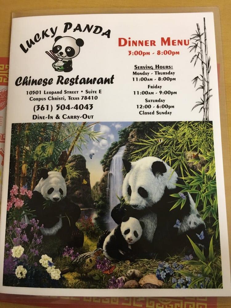 Lucky Panda: 10501 Leopard St, Corpus Christi, TX