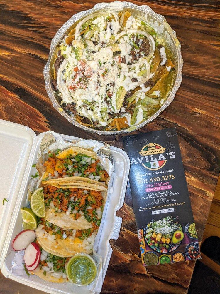 Avila's Taqueria & Restaurant: 6611 Park Ave, West New York, NJ