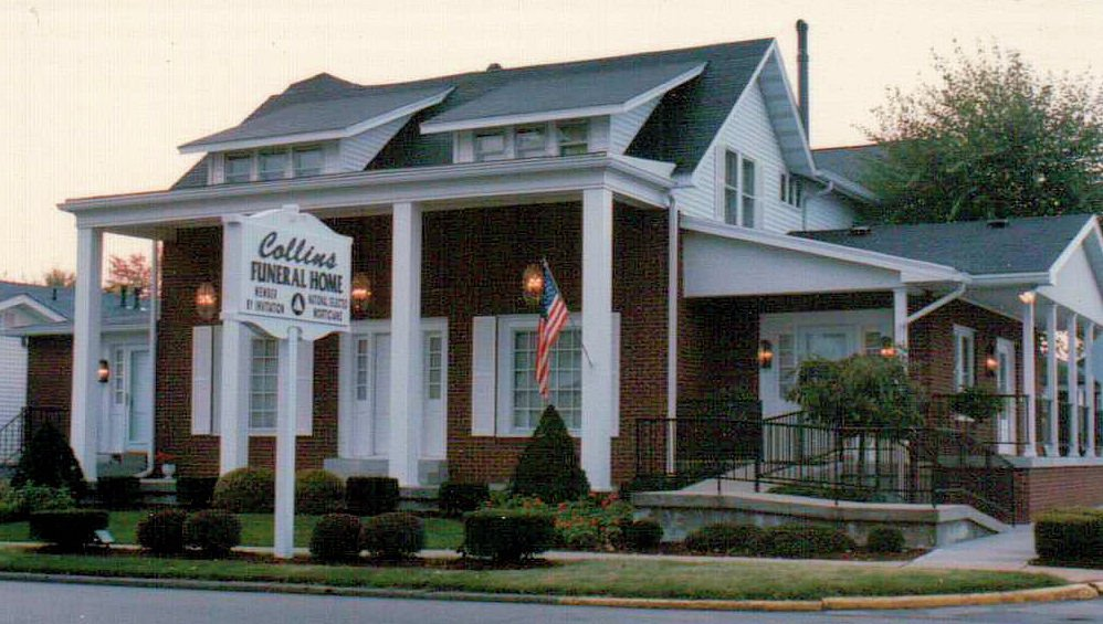 Collins Funeral Home: 465 W McClain Ave, Scottsburg, IN