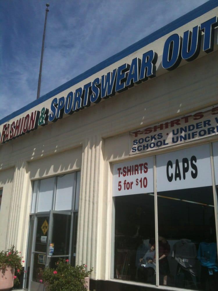 Azusa Fashion & Sportswear Outlet: 634 N San Gabriel Ave, Azusa, CA