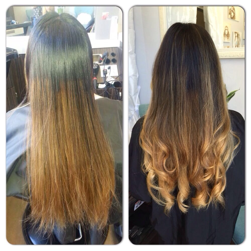 Color Correction From A Bad Ombr 233 To Beautiful Balayage Yelp