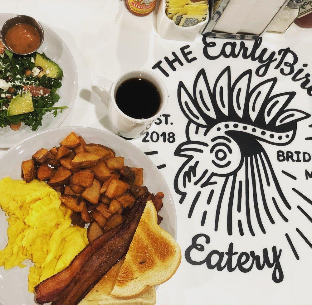 The Early Bird Eatery: 9735 Red Arrow Hwy, Bridgman, MI