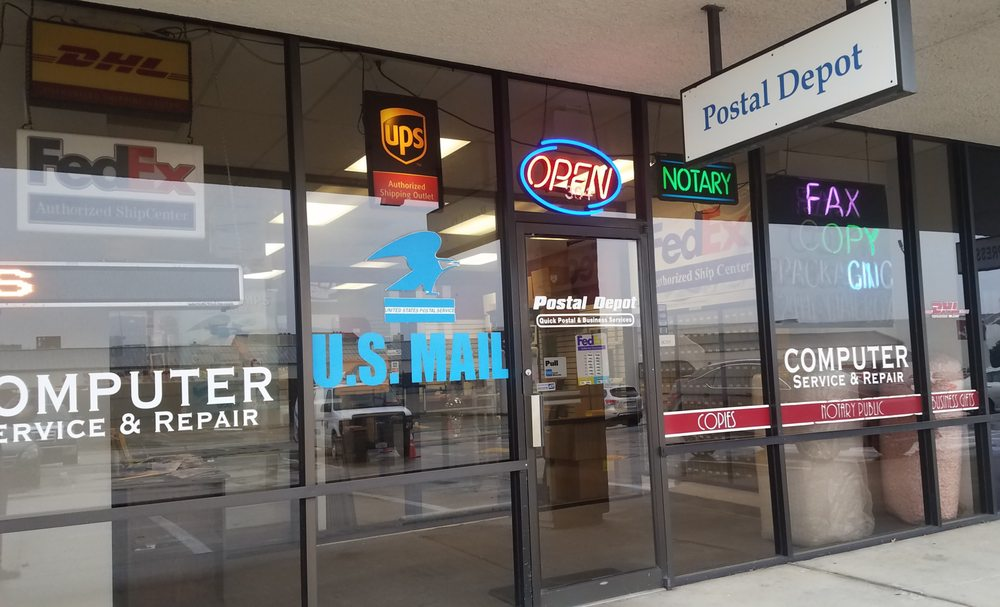 The Postal Depot: 3330 N Galloway Ave, Mesquite, TX