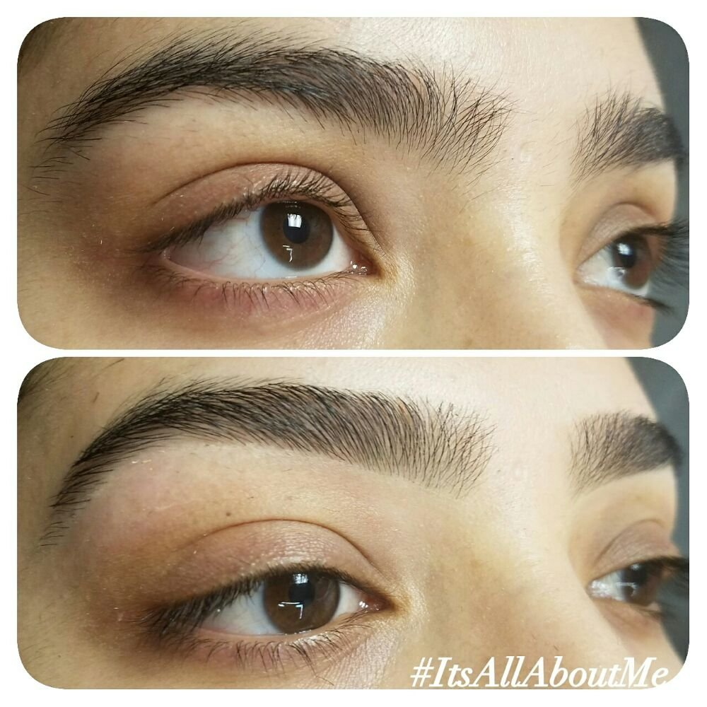 Maggie Eyebrows Before And After Eyebrow Wax Yelp