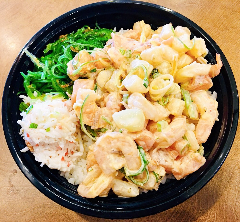 Food from The Low-Key Poke Joint