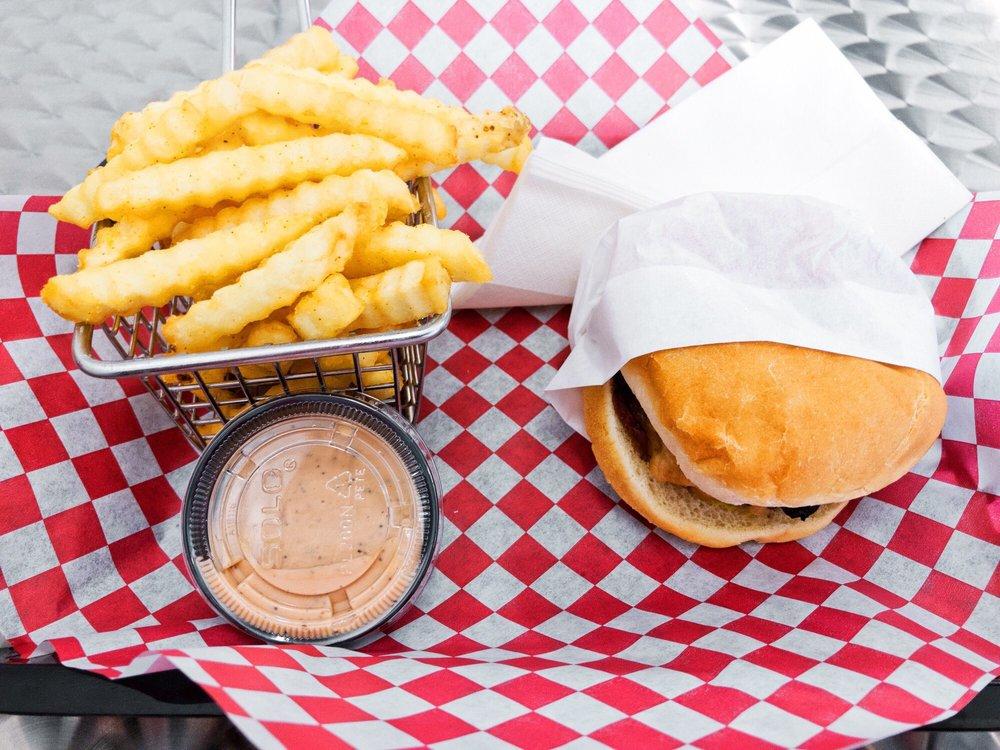 Cheesy Stuffed Burgers: Corvallis, OR
