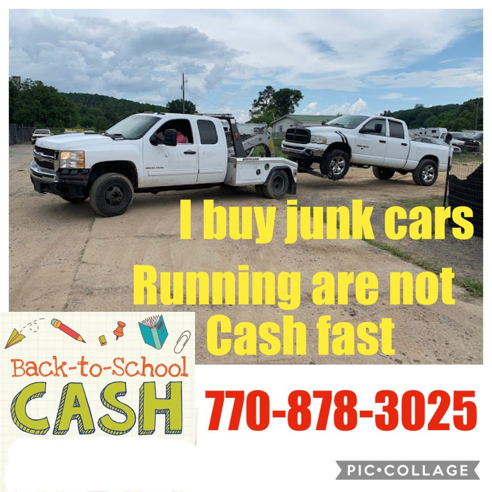 Shooks Junking I Buy Junk Cars: 131 Amberidge Dr NW, Cartersville, GA