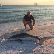 United Photo Of Off The Beach Shark Fishing Trips Panama City Fl