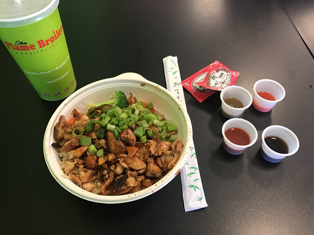 Food from The Flame Broiler