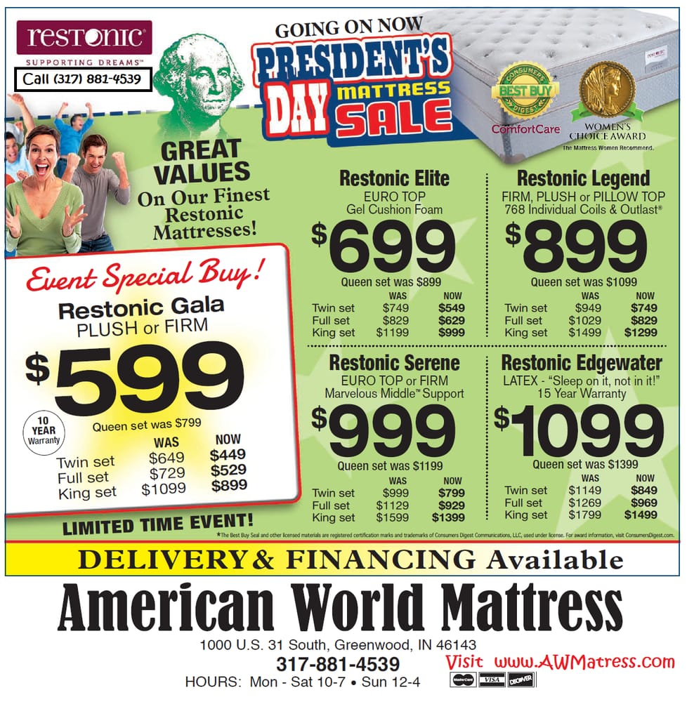American World Mattress - Materassi - 707 S Madison Ave ...