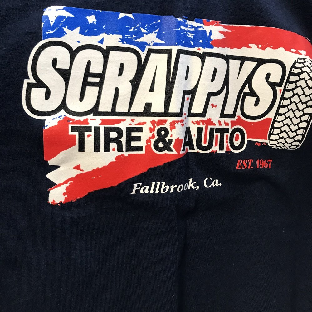 Scrappy's Tire & Auto Repair Center: 346 S Main Ave, Fallbrook, CA