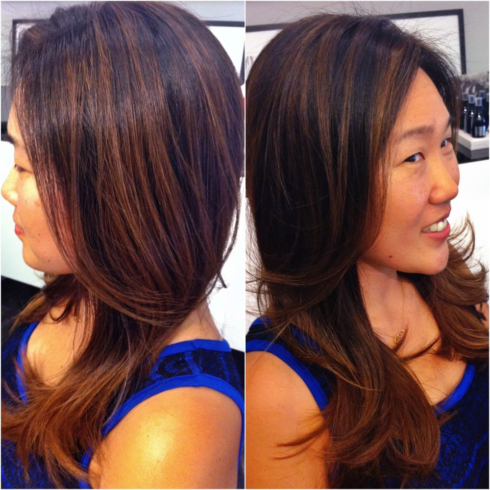 Natural Looking Balayage Highlights Yelp