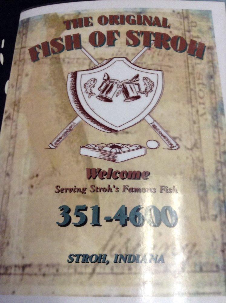 Stroh's Hide-Away Food & Spirits: 4230 S 1175 E, Lagrange, IN