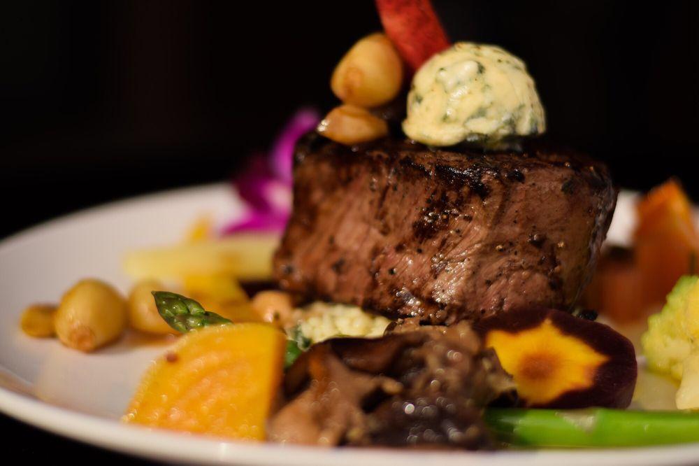 wild garlic grill steak