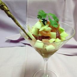 Sakana Japanese Restaurant - Nanuet, NY, United States. Seafood Martini Appetizer