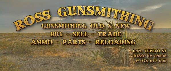 Ross Gunsmithing: 11520 Tupelo St, Reno, NV