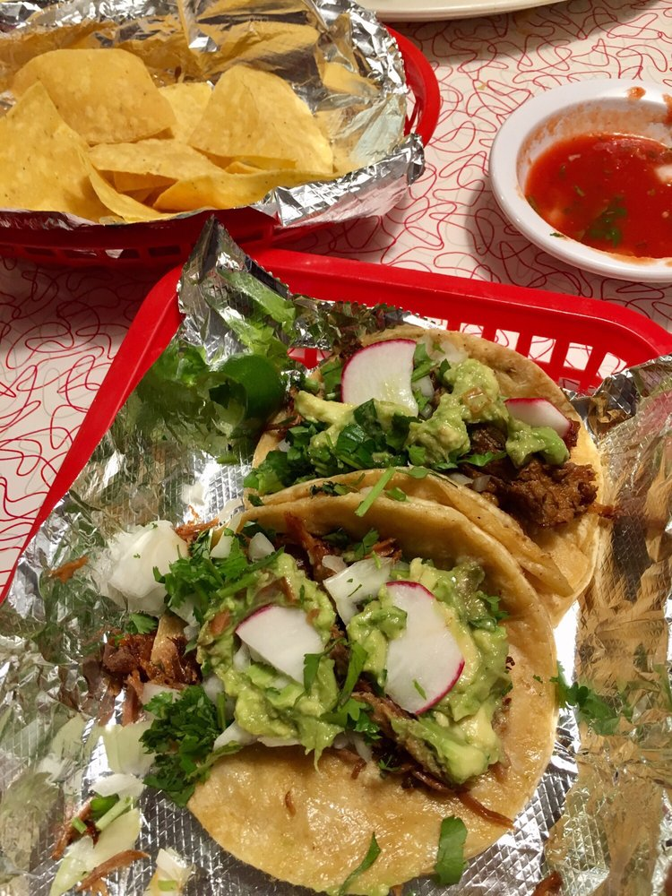 Food from Taqueria San Marcos