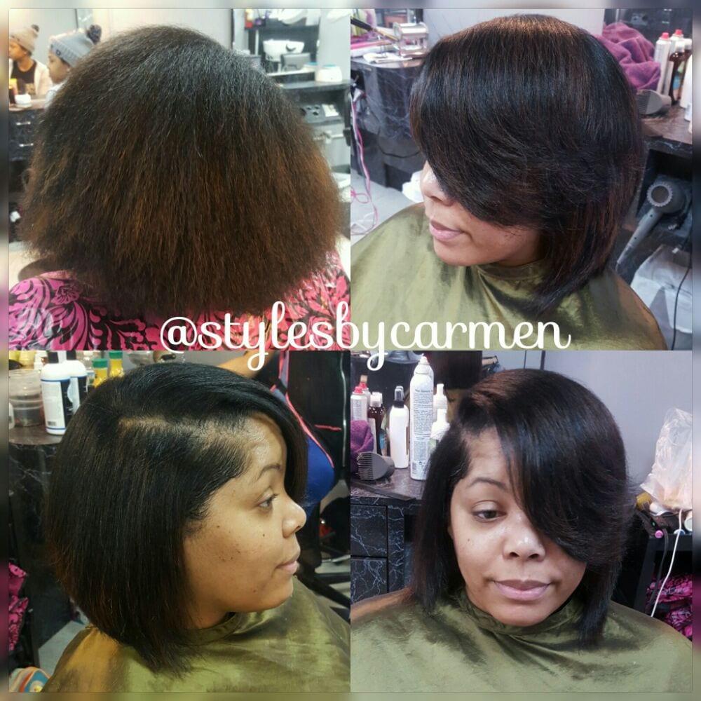 Natural hair silk wrap - Yelp