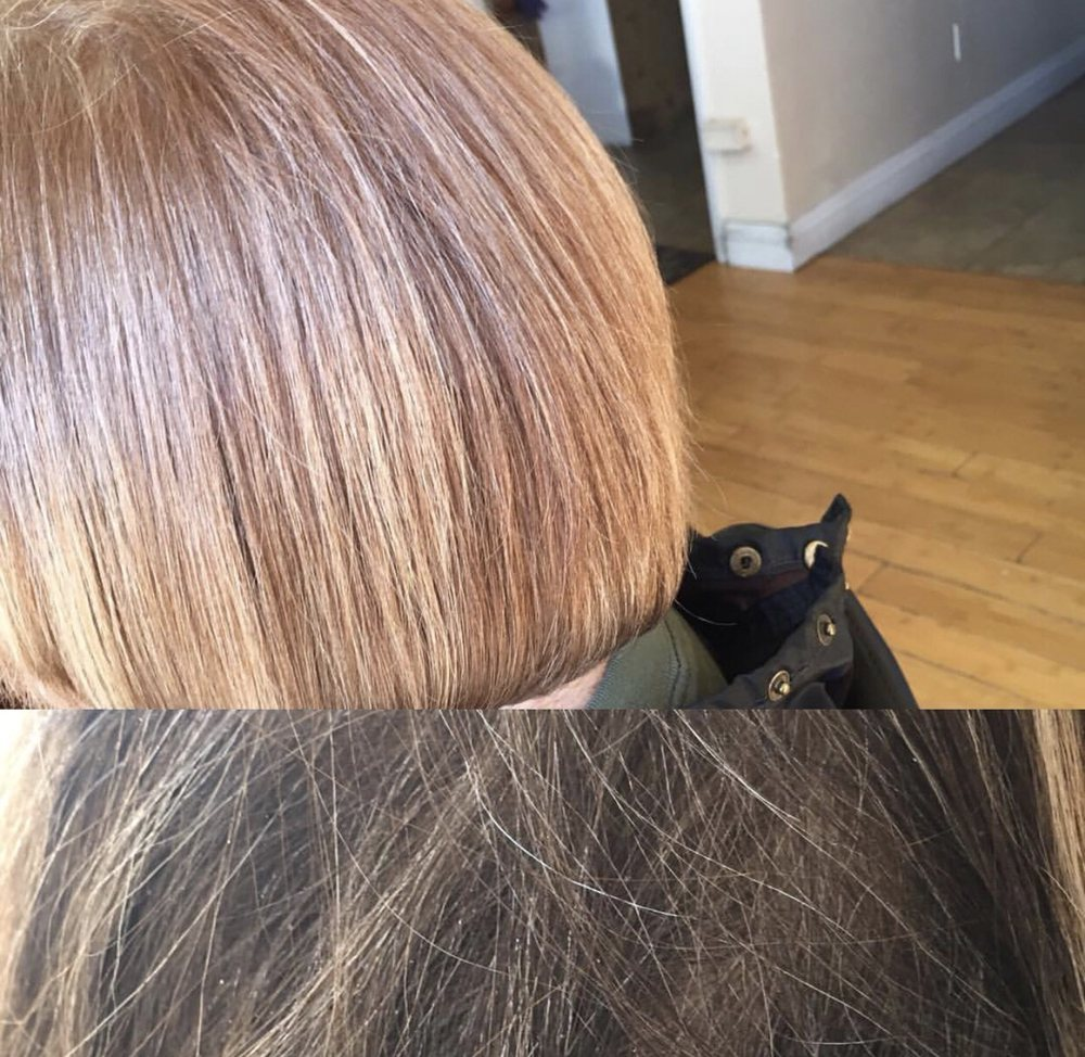Color Correction And A Blunt Bob Cut Yelp