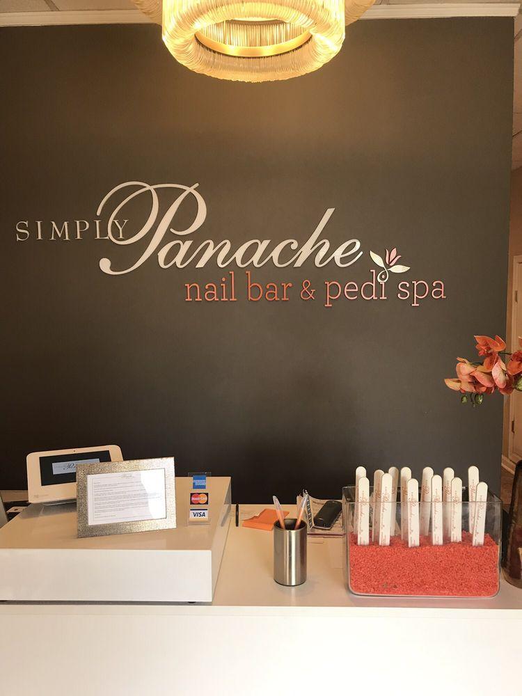 Simply Panache Nail Bar and Pedi Spa: 23 S Mallory St, Hampton, VA