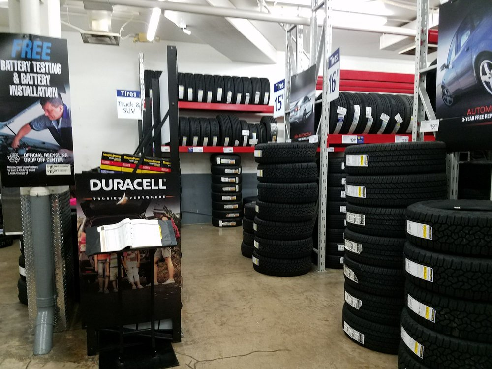 They Sell Tires Car Batteries Windshield Wipers Here Yelp