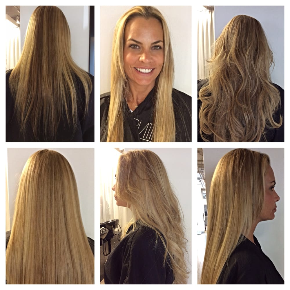 Before And After Great Lengths Hair Extensions From Lori Veltri At