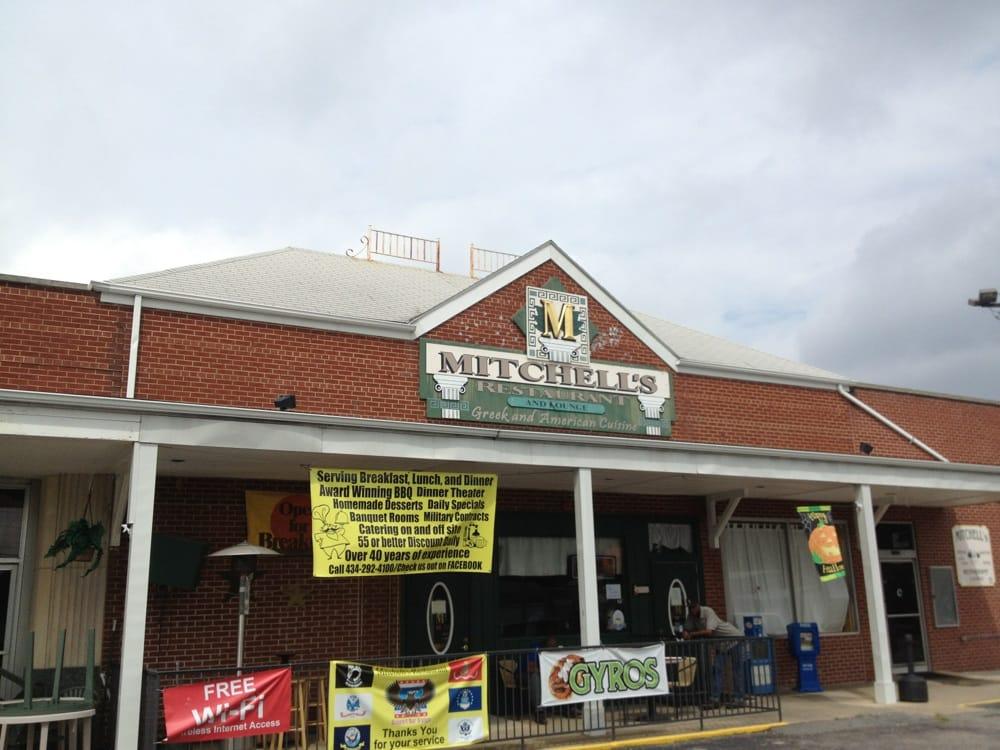 Mitchell's Restaurants: 403 N Main St, Blackstone, VA