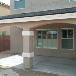 Wood Stucco Tile Patio Cover. Photo Of DBLR Construction   Las Vegas, NV,  United States. Wood Stucco Tile