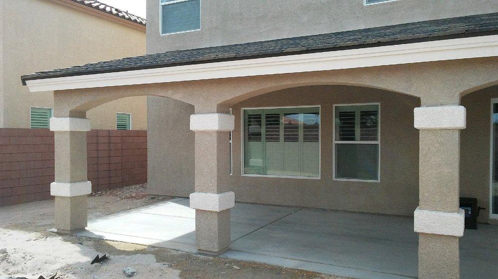 Wood Stucco Tile Patio Cover Yelp