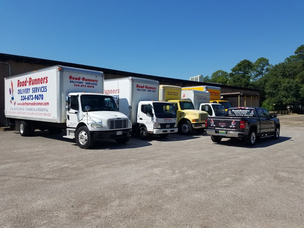 Road-Runners Delivery Services: 2446 Burbank St, Dothan, AL