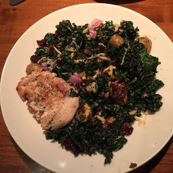 Earls Food Reviews Warm Kale Salad