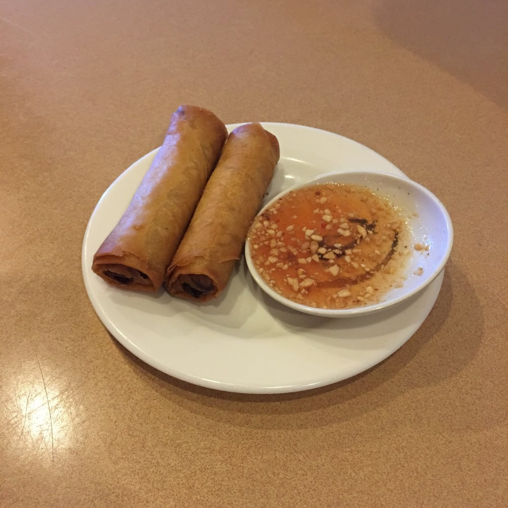 My 2 free spring rolls with yelp check in yelp for 22 thai cuisine yelp