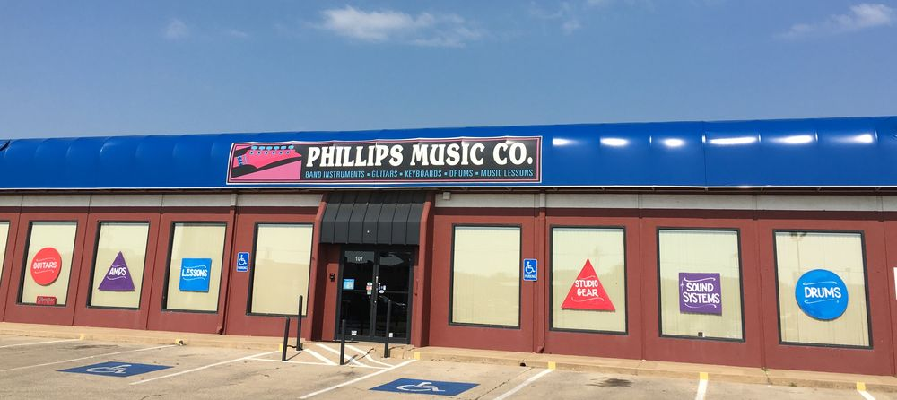 Phillips Music: 107 SW Sheridan Rd, Lawton, OK