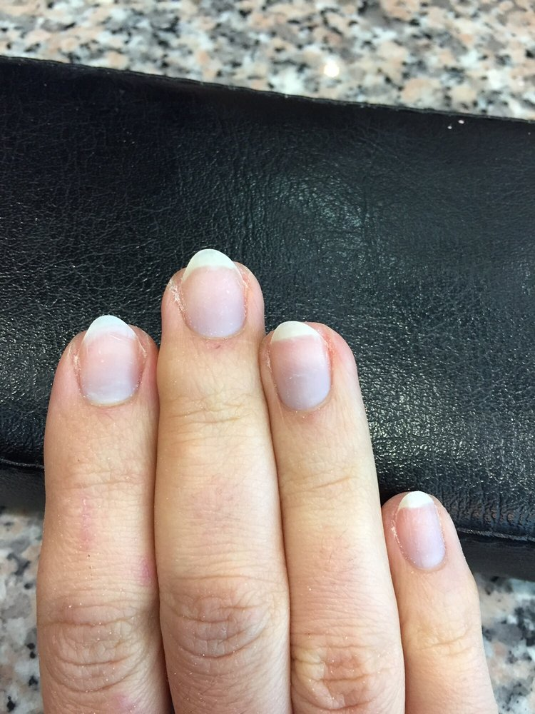 Photo Of Lavi Nails Paramus Nj United States Awful Crooked Over Cut