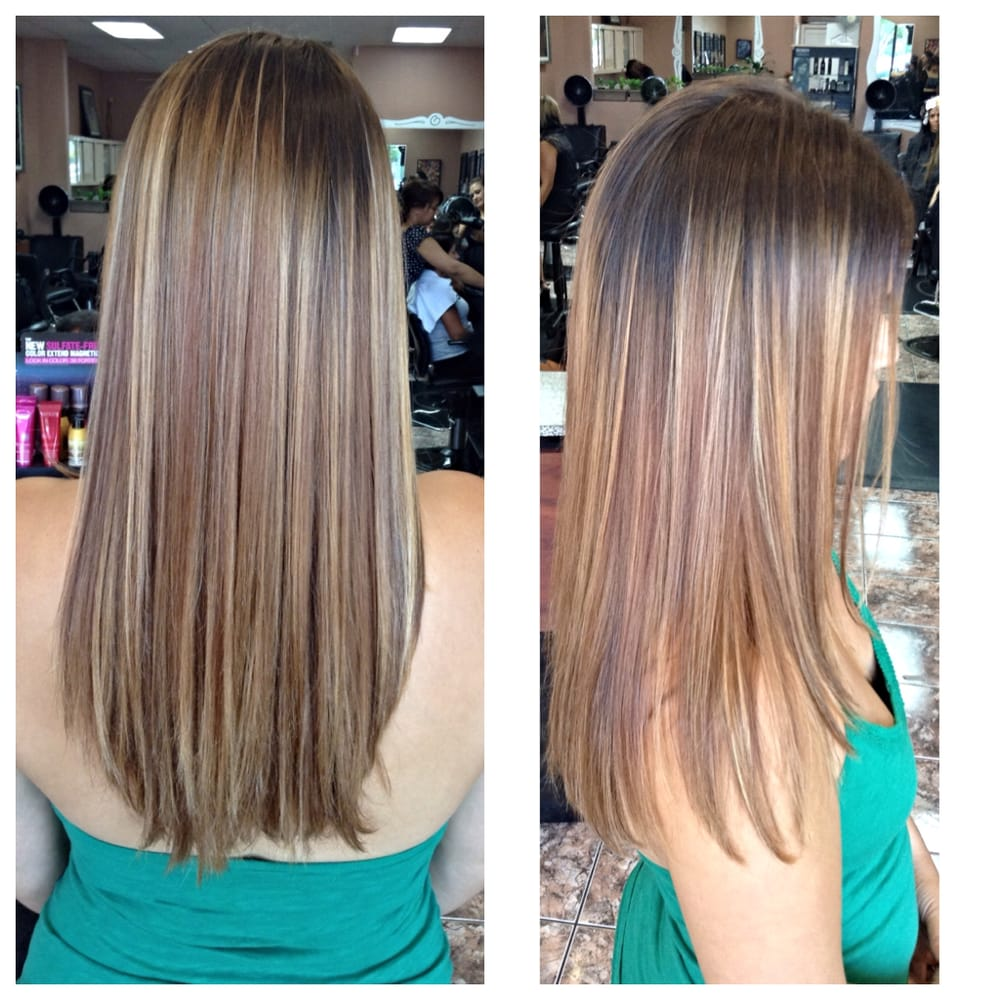 Full Head Of Highlights In Transition To Ombre Yelp