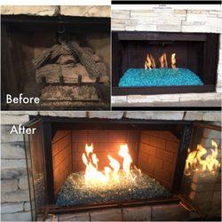 innovation gas fireplace 31 photos 29 reviews fireplace rh yelp com Gas Fireplace Repair Fireplace Repairs Mortar