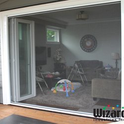 Photo of Screenmobile - Richardson TX United States. Large retractable screens for bi & Screenmobile - 14 Photos u0026 13 Reviews - Shades u0026 Blinds - 605 S ...