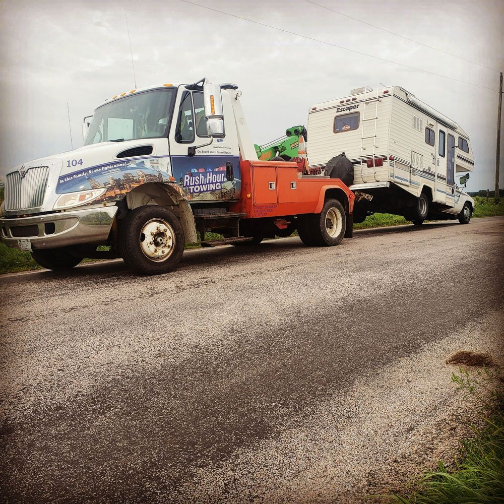 Towing business in Sparta, WI