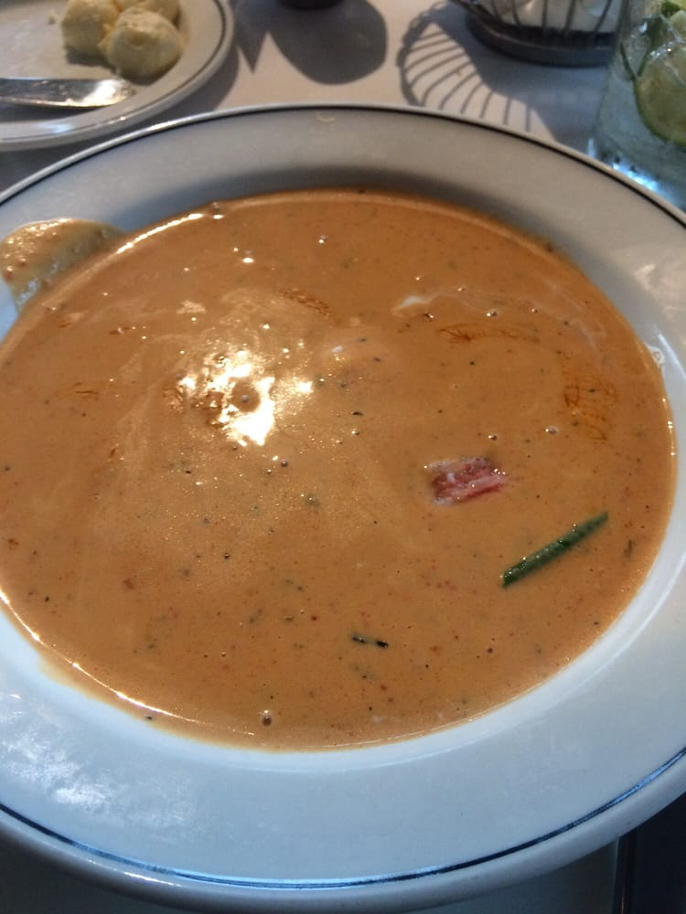 You can't go wrong with the Lobster Bisque! So good! My fav! - Yelp