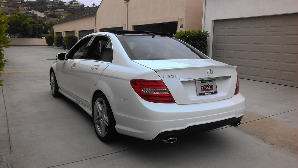 2013 c350 w 18 amg twin 5 spoke rims and panorama sun