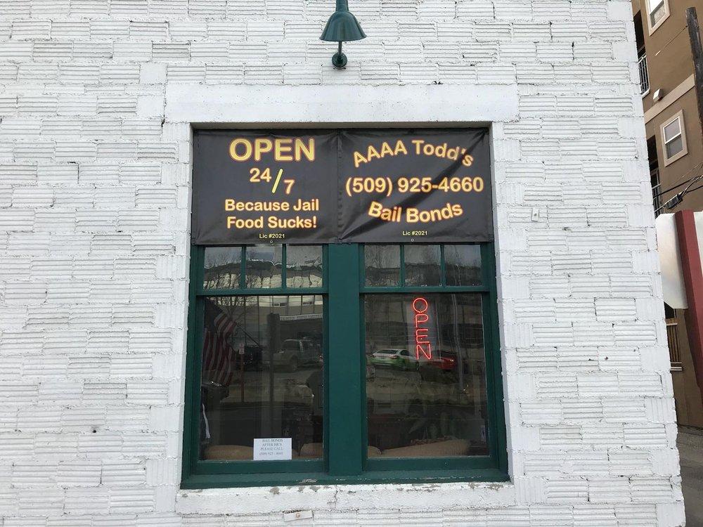 Aaaa Todd's Bail Bonds: 210 W 5th Ave, Ellensburg, WA
