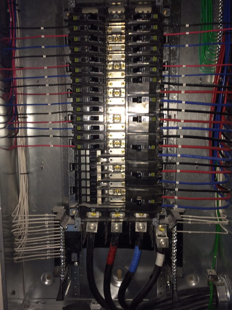 Some nice looking electrical panel work. - Yelp