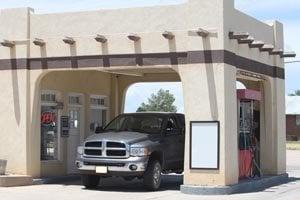 Pendleton 66 Gas Station: Hwy 39, Roy, NM